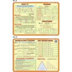 PODKŁADKA EDUKACYJNA 40x30 cm - Matematyka 031