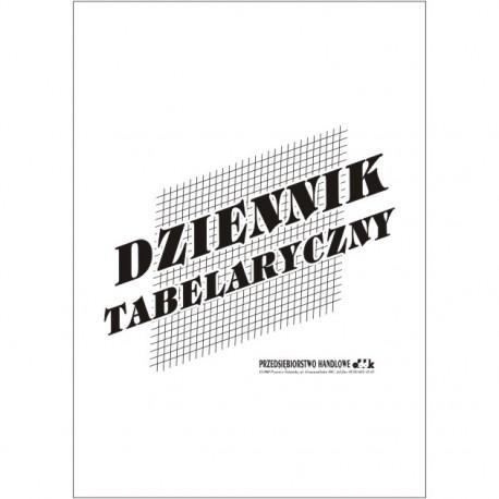Dziennik tabelaryczny