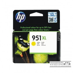 Tusz HP951xl żółty
