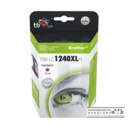 Tusz TB zamiennik Brother LC1240M purpurowy