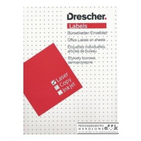 Etykieta samoprzylepna Drescher