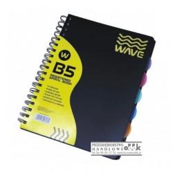 Kołozeszyt B5 PATIO Wave (akademicki)
