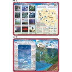 PODKŁADKA EDUKACYJNA 40x30 cm - Geografia 035