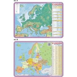 PODKŁADKA EDUKACYJNA 40X30 CM - EUROPA 063