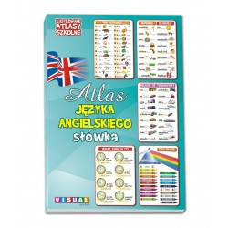 Ilustrowane Atlasy Szkolne - Atlas Języka Angielskiego - słówka