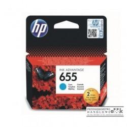 Tusz HP655 cyan (CZ110AE)