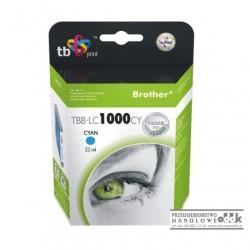 Tusz TB zamiennik Brother LC1000C cyjan