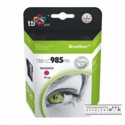 Tusz TB zamiennik Brother LC985M purpurowy
