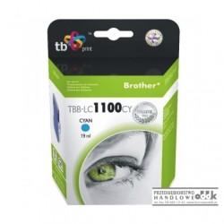 Tusz TB zamiennik Brother LC980C / LC1100C cyjan