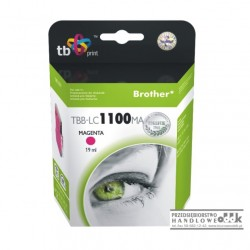 Tusz TB zamiennik Brother LC980M / LC1100M purpurowy