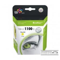 Tusz TB zamiennik Brother LC980Y / LC1100Y żółty