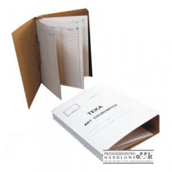 Teczka do akt osobowych papierowa WARTA