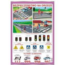 Plansza VISUAL SYSTEM - Bezpieczeństwo na drodze