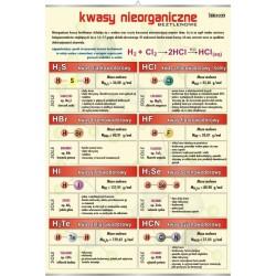 PlanszaVISUAL SYSTEM - Kwasy nieorganiczne