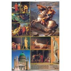 PlanszaVISUAL SYSTEM - Klasycyzm - sztuka XIX wieku