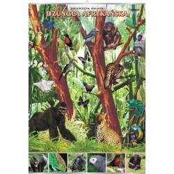 PlanszaVISUAL SYSTEM - Dżungla afrykańska