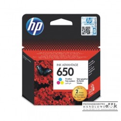 Tusz HP650 kolorowy