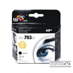 Tusz TB zamiennik HP703 czarny