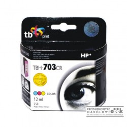 Tusz TB zamiennik HP703 kolorowy