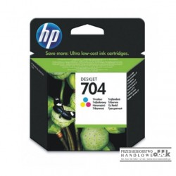 Tusz HP704 kolorowy