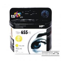 Tusz TB zamiennik HP655 żółty
