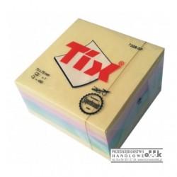 Bloczek samoprzylepny 75x75 TIX mix kolorów