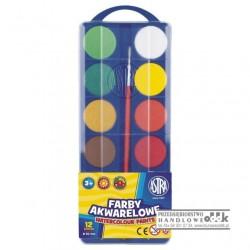Farby akwarelowe 12 kol. ASTRA