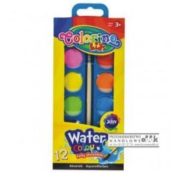 Farby akwarelowe 12 kol. Colorino Kids PATIO