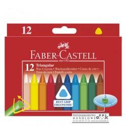 Kredki świecowe 12 kol. Jumbo FABER-CASTELL