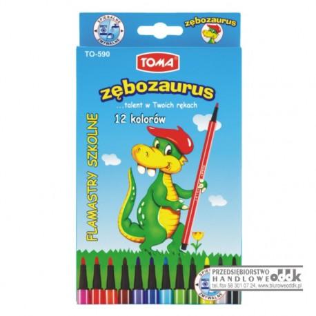 Mazaki 12 kol. TOMA Zębozaurus