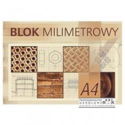 Blok milimetrowy A4