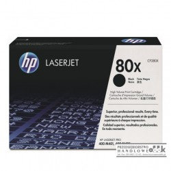 Toner HP 80X czarny