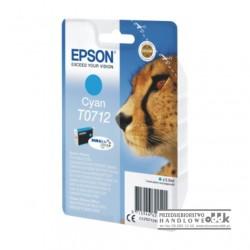Tusz Epson T0712 cyjan
