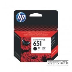Tusz HP651 czarny