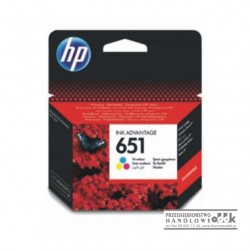 Tusz HP651 kolorowy