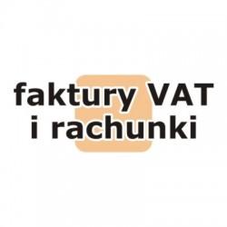 Faktury VAT i rachunki