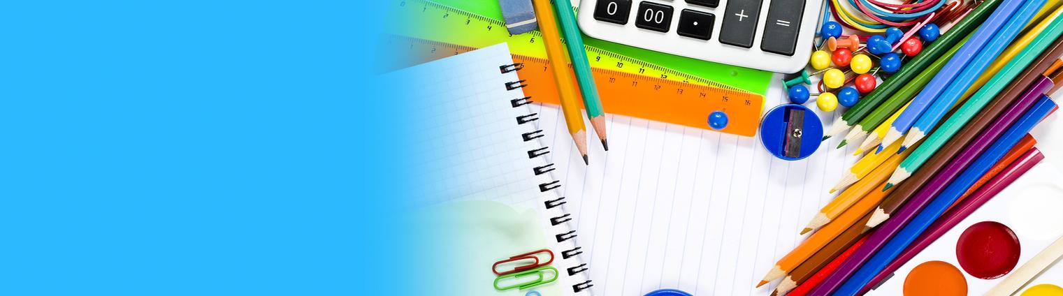 Szeroki wybór artykułów szkolnych
